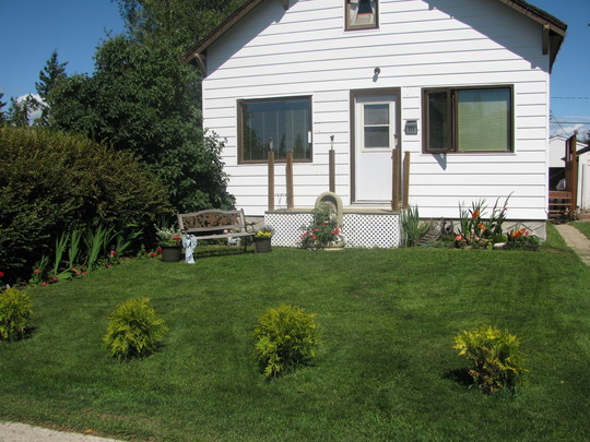 Front Yard - Year One