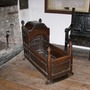 The cradle that rocks without any hand touching - Chambercombe