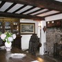 The main living/dining room. Chambercombe