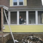 Front Porch gone and enclosed