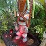 chic-e-tiki volcano fountain (Sedum burrito)