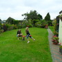 2 of my grandchildren enjoying the garden...