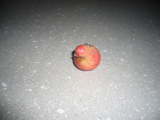 Apple having a smoke,