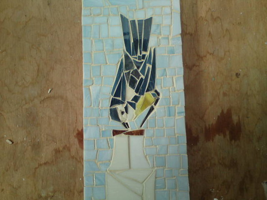 Blue Tit Mosaic