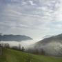 Mist rising in the Val di Vergatello