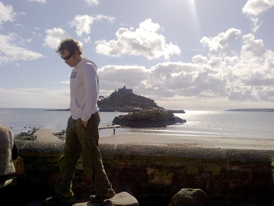 Me and St Michaels Mount