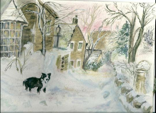 A Wintry Scene Rabbit Lane 2