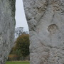Avebury circle in the stone