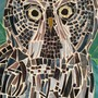 Great Grey Owl Mosaic