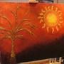 autumn gold (wall art painting)