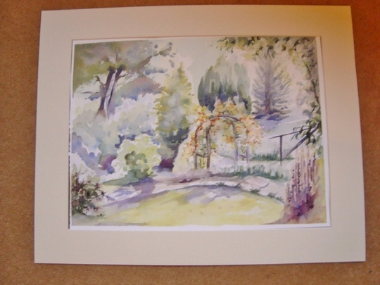 DSC02580 640x480 Painting of front garden.