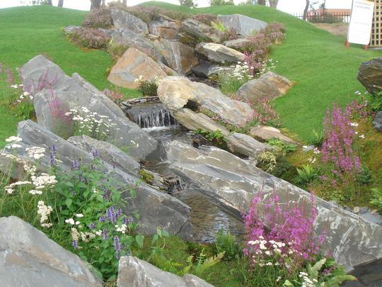 Southport Flower Show 2007 - rock & water garden