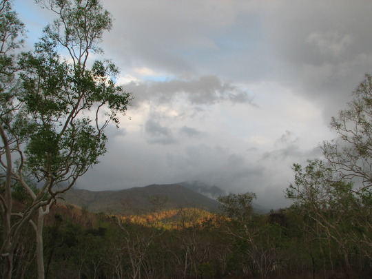 Early Summer in N.E. Downunder - Sunset in the hills