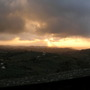 The promise of evening rain ..