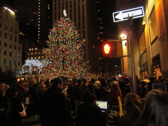 Christmas Tree Rockerfeller Center