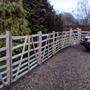 Chestnut Hurdle fencing