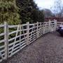 Chestnut Hurdle fencing