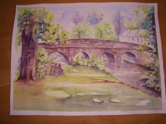 Dulverton Bridge,Devon.