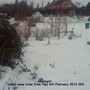 Allotment Under snow General view 06-02-2012 001