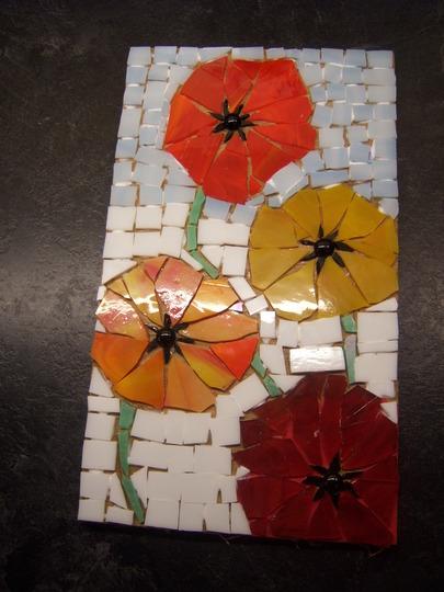 Icelandic Poppy Mosaic