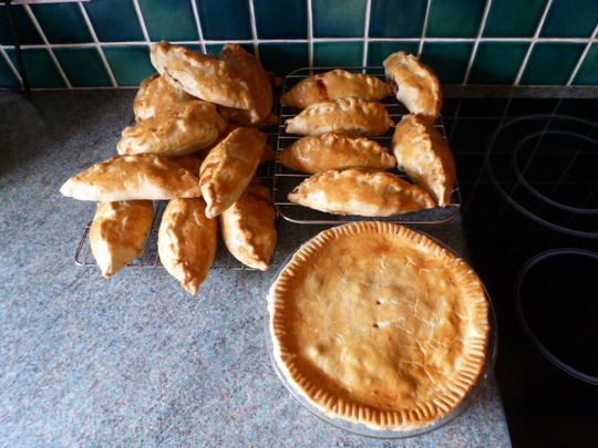 Proof that I made Yorkshire's Pasties