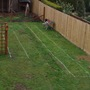 Flower Beds drawn out Ready to be cut