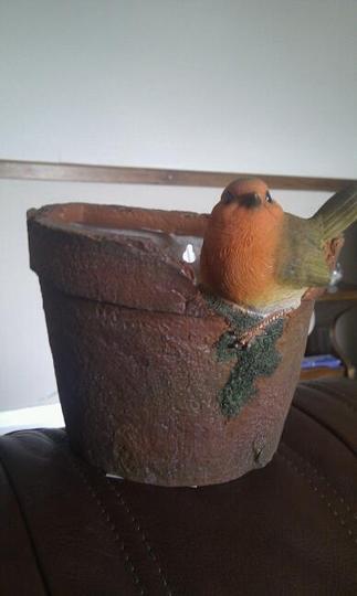 My new wall pot :o)