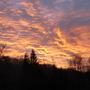 Pink sky at morning....