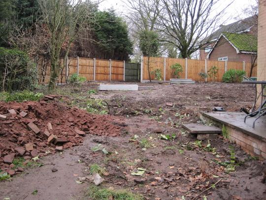 One view of teh garden taken in March 2012
