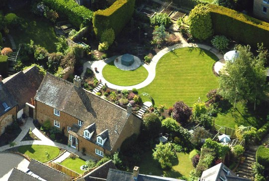 My brothers garden, aerial view!!!!