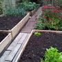 Another view of raised beds