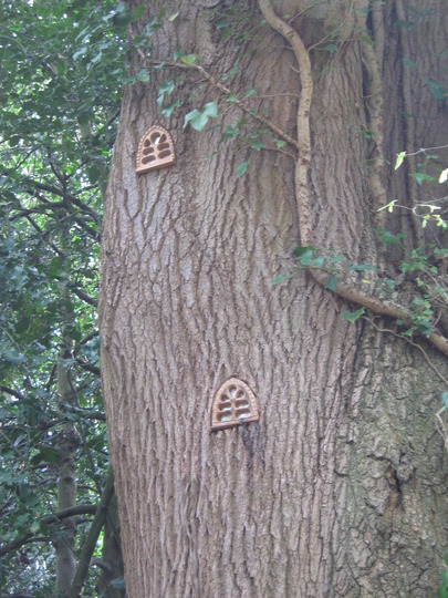 The Fairy tree in the Grove