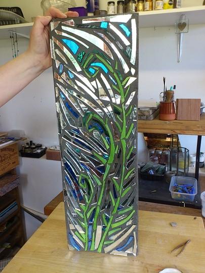 Sticki Toffee's Fern mosaic