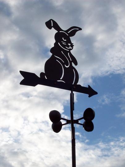 Rabbit Weather Vain .....