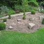 topiary area - work in progress