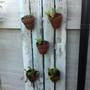 Shabby Chic Wall Flower Pot Holder