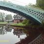 Iron Bridge on the River Dee, Chester