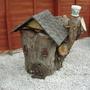 .S-in-L Gdn.  One conifer stump disguessed