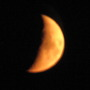 Did you see the colour of the moon last night?