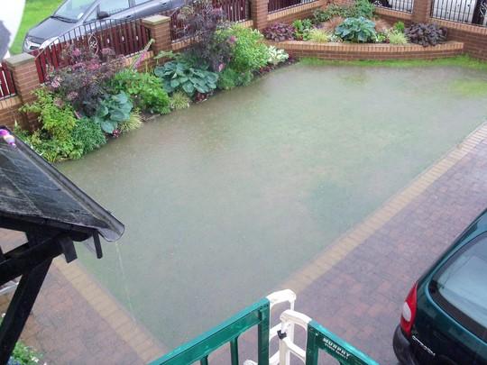 Floods Yesterday!