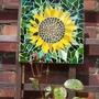 Climbing Rose and Sunflower