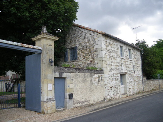 The Gate House of the Chateau
