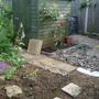 New bit in garden