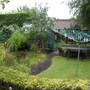 Back garden- end half