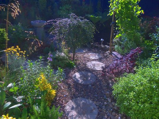 main gravel garden