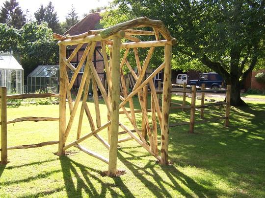 Garden Timber Archways