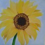 sunflower painting