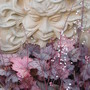 Green Man and Heuchera Planter..