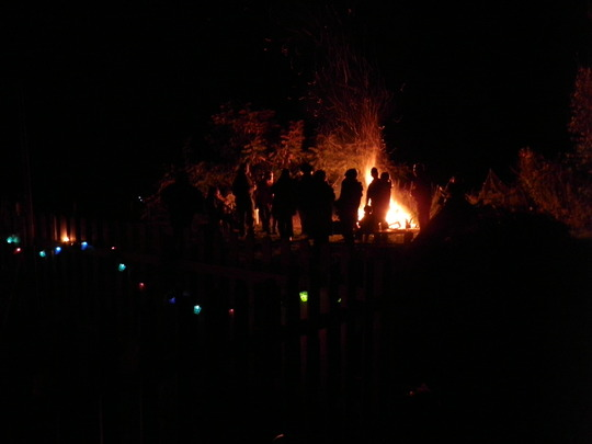 Bonfire night, getting in early ; )