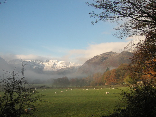 Snow in the Lake District - November this year.